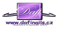 logo Dafi - www.dafinails.cz